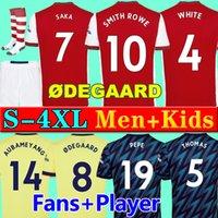 Fans Spielerversion Arsenal Fußballtrikot 2021 2022 Gunners ODEGAARD PEPE SAKA THOMAS WILLIAN TIERNEY 20 21 22 Fußballtrikots Männer Kinder