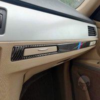Tutucu Panel Şerit Sticker Yolcu Kupası Benzersiz Parçalar BMW E90 E92 E93 3 Serisi için Taşınabilir Araba Süsler 2005-2012