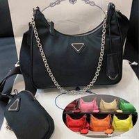 2021 Mode Luxurys Designer Taschen Lady Womens Edition Crossbody Tote RE-Edition 2005 Nylon Hobo Schulter Frauen Geldbörsen Handtaschen PU Bag Brieftasche Backpak und Box