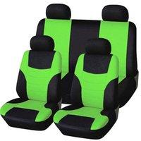 العالمي غطاء مقعد السيارة شخصية خياطة السيارات الكراسي واقية الأكمام القماش مقاعد السيارات يغطي