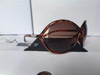 New Woman men Brand Sunglasses Gradient Quality Top Leopard Designer Fashion Ford Sun Man Matt Eyewear Glasses 0394 Erika Tom 0392 Lenses 5178 fordd