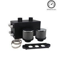 6 Portpulverlackerad svart / krompolerad 10 En aluminiumolja