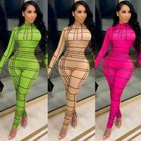 QCLYD X5007 NOUVEAU HORGE VÊTEMENTS Jumpsuit Sexy Femme Positionnement Imprimer X5007 NOUVEAU BODOY VÊTEMENTS Numérique Digitalwomen's Sexy Combinaison Digital