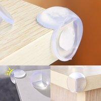 Cojines de la cabecera 12pcs / set Transparent Baby Caja de protección esférica de la protección esférica Ángulo de engrosamiento Anti-colisión