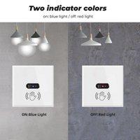 Smart Home Control Wall Light Switch LNFRARED IR Sensor NEE NEPING TOUCH EU US 220 V 110 V Glasscherm Panel Elektrisch vermogen Aan Uit Lamp