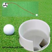 Golf Training Aids 2021 Putting Green Hole Cup Holder Accessories Outdoor Backyard Garden Flag Stick Pole