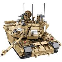 Meoa New 632008 Военные WW2 серии 1687 шт. Challenger II Главный боевой танк набор строительных блоков Ассамблеи военные кирпичи игрушки мальчик