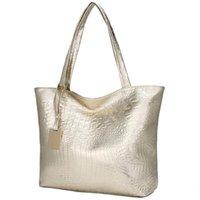 Роскошные сумки женские сумки дизайнерские голографические колокольники сумки повседневные крокодиловые узоры