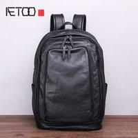 Sac à dos HBP Aetoo gratuit et facile pour hommes pour les loisirs d'entreprise, sac à dos multicouche pratique de grande capacité, sac doux et confortable