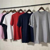 2021 브랜드 패션 박스 티 셔츠