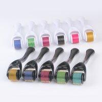 Toptan Kozmetik Microneedling Enstrüman 540 Titanyum Mikro İğne Derma Rulo Yüz Güzellik Masaj Araçları Sağlıklı Bakım