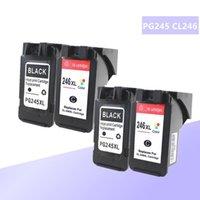 PG-245XL PG245XL PG245 CL246 Canon PG 245 PG-245 CL 246 Için PIXMA IP2820 MX492 MG2924 MX492 MG2520 için PG-245 CL 246