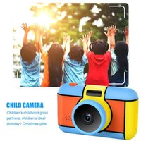 Digital Cameras Kids Camera Selfie Rechargeable Toy 2.4 Inches HD Screen Video Camcorder With Flash Light Gift For Boys Girls
