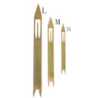 Handmade Рыболовные снасти Бамбукового шаттла Рыбаки Ремонт инструменты Sticky Net Трехслойное рыболовное Net Diy Tooving Sace