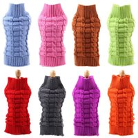 Dog Apparel Classic Sweater Winter Warm Pet Clothes For Small Dogs Chihuahua Pug Sweaters Puppy Cat Coat Jacket Jumpers Clothing