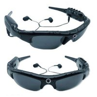 Mini Cameras 1080P Glasses Camera With Bluetooth MP3 Player Sunglasses DV Headset Sports Driving Forensics Recorder Polarized Lens Camcorder