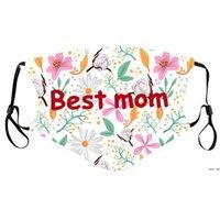 Mastería del día de las madres Dama Fashion Botra transpirable cubierta de la boca Impresionada a prueba de polvo Ajustable Ajustable MEJOR MOMAS DE MOMAS DHA4131