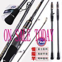 Lurekiller Japón Guía FUJI completa Spinning / Casting2.0m Rod Slow Jigging Rod Carbon Jig Rod Boat Jigging