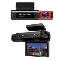 2K + 1080P DVRS oculto Video Recorder Dash Cam CAM HD 1080p Coche DVR cámara de grabación de lazo con WiFi Registro de rotación plegable DVR