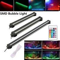 Gako Air Bubble Lamps 24/32/47/51 CM Красочные RGB SMD Aquarium Light Водонепроницаемый рыбный танк Погружной свет Y200917
