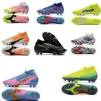 2020 mercurial superfly vii 7 النخبة 360 fg soccer shoes cr7 se11 sancho neymar رجل chaussure دي القدم كرة القدم الأحذية عالية الكاحل المرابط