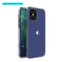 Caso de telefone de sublimação para iPhone 12 11 Pro Max Mini SE 7 8 PLUS CLIMENTO CASE TPU macio transparente para impressão