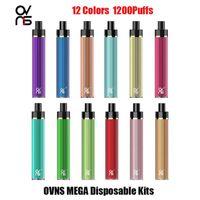 Authentic Ovns JCSTICK MEGA DISPOSITIF DE DISPOSITIF 950MAH PODSTICK 5ML 1200 Puffs Système de barre de Stick Vape 100% Original