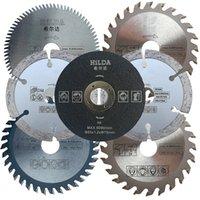 7 teile / satz Mini-Sägeblätter Schneidklingen für Mini-Kreissäge, Durchmesser 85x15mm, elektrische Sägeblatt, Elektrowerkzeug-Zubehörklingen