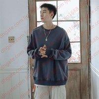 Men Pullover Oversize Loose Korean Fashion Long Sleeve O Neck Casual Boys Male New Autumn Hoodies Tops