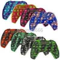 Gökkuşağı itme kabarcık fidge duyusal oyuncak autisim için özel ihtiyaçlar için anti-stres oyunu stres kabartma squishy fidget oyuncaklar