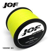 Новый JOF 1000M BRAND SUPER SILL MULTIFALAMENTE PE плетеная рыбалка 4 прядью супер прочные 10 12 18 28 35 40 50 60 80LB