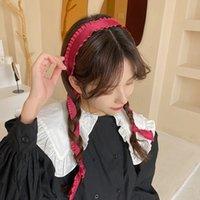 Для женщины, висит безель головы обруч голова повязки дамы мода ретро волосы аксессуары стримера лук волос ленты головные уборы головной убор