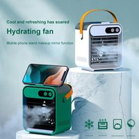 Humidifiers Mini Refrigeration Air Conditioner Household Small Cooler Portable Mobile Humidification Desktop Water-cooled Electric Fan