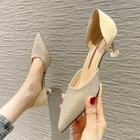 Dress Shoes Women Fashion High Quality Light Weight Buckle Strap Stiletto Heel Lady Cool Party Night Club Sexy Zapatillas Mujer
