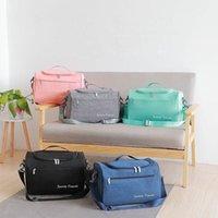 Duffel Bags Travel Necessary Duffels Bag Multifunction Belongings Storage Shoulder Handbag Toiletries Cosmetic Clothes Shoes Organize Pouch