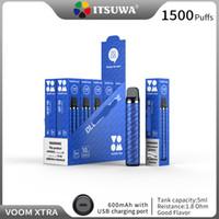 Véritable Système de pood XTRA de VOOCH XTRA 600MAH Rechargeable Vape Vape Pen Portable 5ML Tank Expédition gratuite