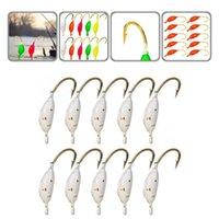Fishing Hooks Long-lasting 10Pcs Set Reliable Fake Lures Jigs Heads Mini Reusable For Lake