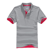 Men's T-shirt Summer Classic Cotton Short Sleeve Tee Shirt Mens Casual Solid T-Shirts Tops Men Business Golf T Shits Camisa Tops