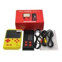 MINI PORTABLE RETRO BACKHELD DOUBLES Console de jeu peut stocker 400 jeu 8 bits 3,0 pouces couleur couleur couleur enfants joueur de jeu