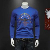 Herren Hoodies Modedesigner Langarm Herbst Trend Personalisierte Brief Pailletten Stickerei Slim Sweatshirts Perfekt für Jeans und Hosen