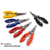 Рыбацкая плечница ножничный озел Line Lury Rutter Clooth Remover и т. Д. Устранение инструмента для резки рыбы Используйте Щипы многофункциональные ножницы