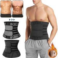 남자 허리 트레이너 복부 슬리밍 바디 셰이퍼 배 모양 체중 감소 셰이프 워킹 슈트 슬림 모델링 벨트 거들 땀 트리머