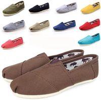 2021 Yeni Boyutu 35-45 Yeni Marka Moda Kadın Flats Ayakkabı Sneakers Kadın Ve Erkekler Kanvas Ayakkabı Loafer'lar Rahat Ayakkabılar Espadrilles