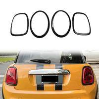 Lumières interiorexternales pour mini Cooper F55 F56 F57 F57 Fibre de carbone Feuille avant Feu arrière Lampes arrière Cadre Bague Couvercle Couvercle Carry Car Styling