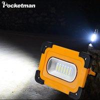 Super helle LED Arbeitslicht Outdoor Solar Arbeitslampe mit eingebauter Batterie USB Wiederaufladbare Suchscheinwerfer Wasserdichtes Scheinwerfer