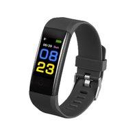 100 stücke Günstigst 115 Plus Smart Armband Banduhr billig Smart Band Fitness Tracker Gesundheitswesen Smart Band Armband PK ID116 M5