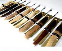 """Estensioni dei capelli Brasiliani Remy Nano Perline 18 """"20"""" Nano anelli Estensione dei capelli umani 100g Nano Ring Loop Extensions 100beads"""