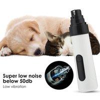 Taille de trimmer rechargeable Polisseur électrique USB pour animaux de compagnie Dog Ticker Dog Ticker