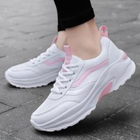 Dress Shoes Women Female Leisure Students Thick Bottom Sneakers Casual Fashion Sports Women's For Ladies
