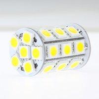 Ampoule d'éclairage de lampe 2700K LED G6.35 2700K 12VAC / 12VDC / 24VDC 27NED de 5050SMD 4W pour remplacer l'halogène 35W